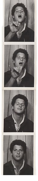 Paul in photo booth